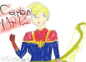 Captain Marvel by DidoArt12