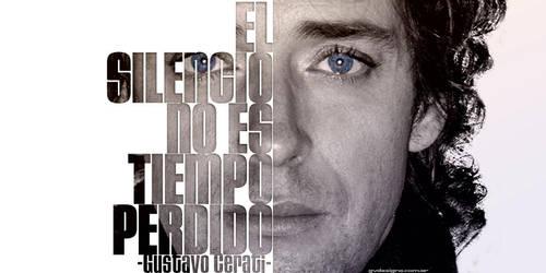 El Silencio No Es Tiempo Perdido | Gustavo Cerati by gvdesigns