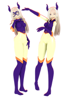 [ MMD ] Mt. Lady - Hero Costume (DOWNLOAD) by bakugos