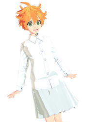 [ MMD ] Emma - The Promised Neverland by bakugos