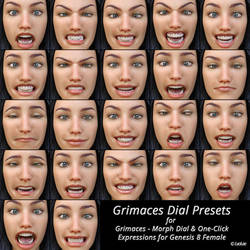 Grimaces Dial Presets (Add-On) by ratorama