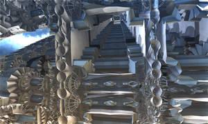 Escalator to have fun by TABASCO-RAREMASTER