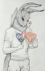 Rabbit Heart   by Keenpowlyd