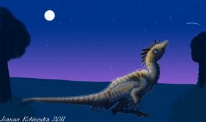 Art trade with GryphondaRaptor by BlueFluffyDinosaur