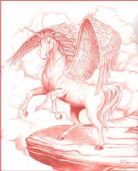 Pegasus by Darkwing-Eli
