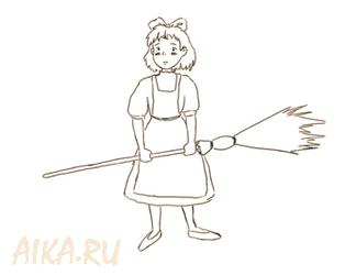 Kiki from Kiki's delivery service by iruslan