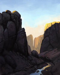 Landscape by M0AI