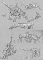 Narakan Snappers: Sketches by M0AI