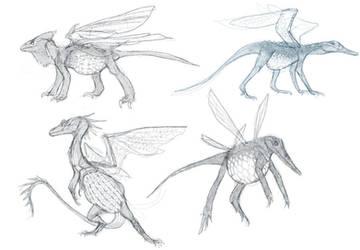 CotSF: Dragonette Concepts by M0AI