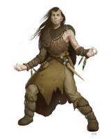 Bestial Druid by M0AI