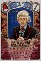 3rd Doctor by boop-boop