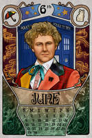 6th Doctor by boop-boop