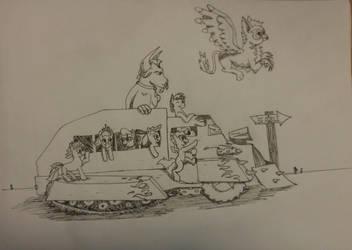 my little war tukk! by Snoopy8009