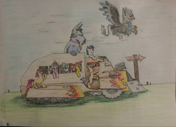 My little war tukk! W/Color! by Snoopy8009