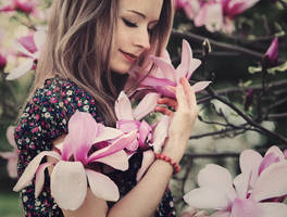 magnolia by baravavrova