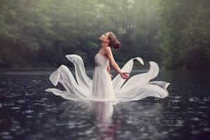 raindrop by baravavrova