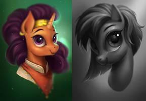 Pony Portraits by Maaronn