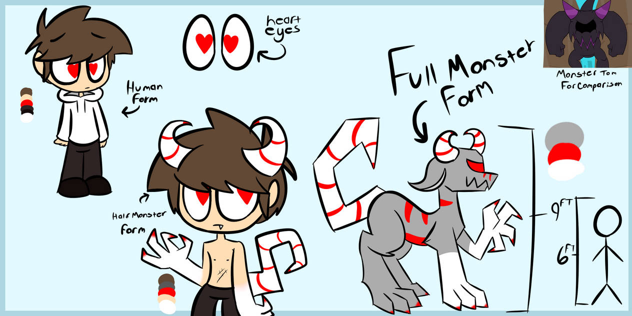 Ref sheet for Tord Art by Higgiartxene Eddsworld Edd Toms