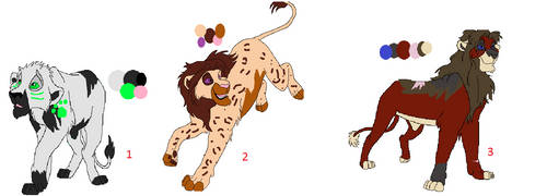 Lion King Adopts OPEN by Dracko-Adopts