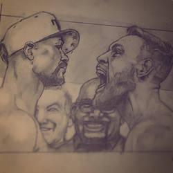 Floyd mayweather vs Conor mcgreger  by varuik