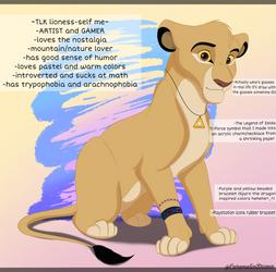 Lionized me by CarameliaBriana