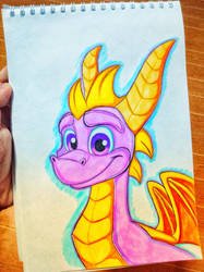 ~Reignited Spyro the Dragon~ by CarameliaBriana