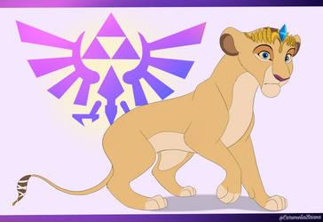 TLKfied Zelda WIP by CarameliaBriana