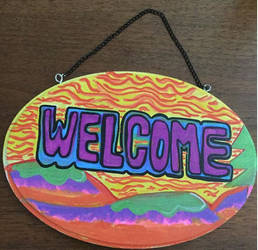 Welcome Sign by margypargie