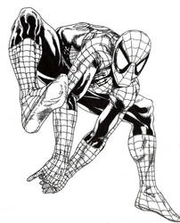 Spidey Sketch 1 by Menco