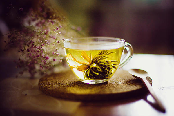 lily tea by CuCat
