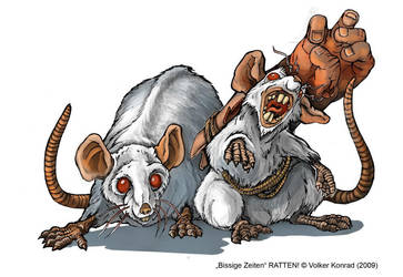 Rat Brothers by KonradV