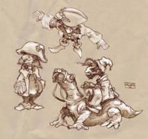 Gnomes by KonradV