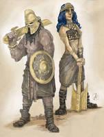 Ronthar Barbarians by KonradV