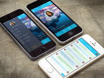 App Chat Nearby by raditeputut