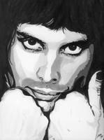 Freddie Mercury by SSkyborg