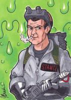 Sketch Card 209 - Ray Stantz by JasonRocket