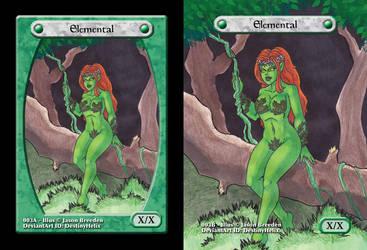 Custom Magic Token #3 - Earth Elemental by JasonRocket