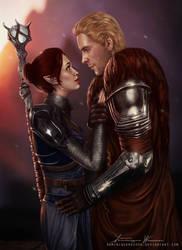 Dejanira and Cullen by DominiqueWesson