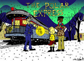 The Polar Express Title Card by MDKartoons