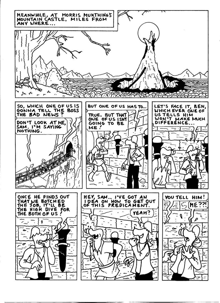 The Zander Adventure Page 13 by MDKartoons