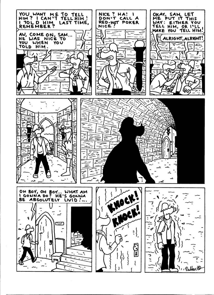 The Zander Adventure Page 14 by MDKartoons