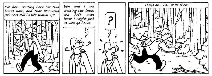 Zander Adventure Strip 2 by MDKartoons