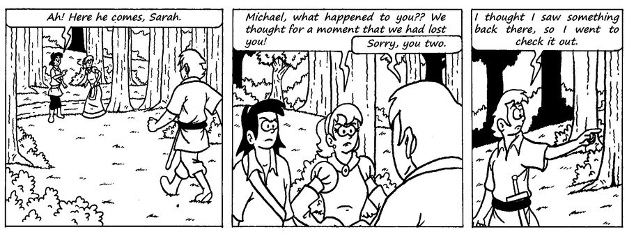 Zander Adventure Strip 9 by MDKartoons