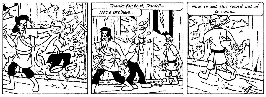 Zander Adventure Strip 24 by MDKartoons