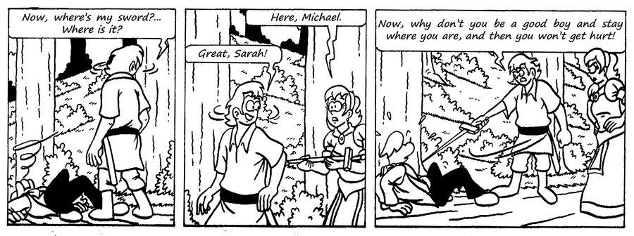 Zander Adventure Strip 29 by MDKartoons
