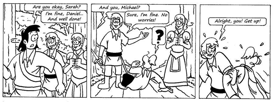 Zander Adventure Strip 32 by MDKartoons