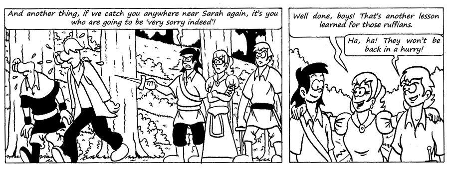 Zander Adventure Strip 34 by MDKartoons