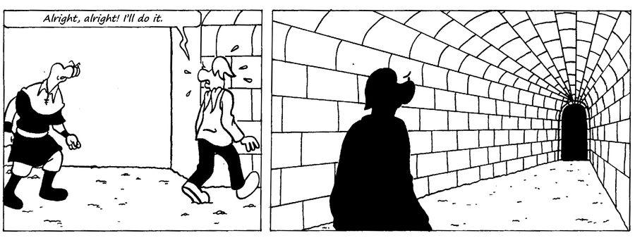 Zander Adventure Strip 39 by MDKartoons
