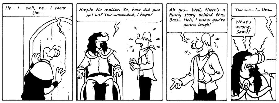 Zander Adventure Strip 45 by MDKartoons
