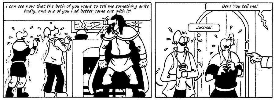 Zander Adventure Strip 48 by MDKartoons